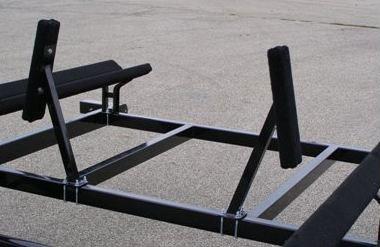 how to build a pontoon trailer