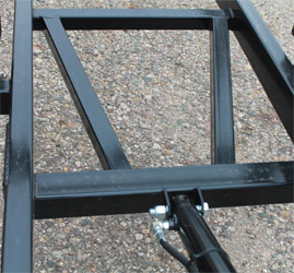 pontoon boat trailer bracing