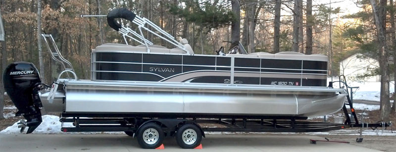 About Tandem Axle Pontoon Trailers